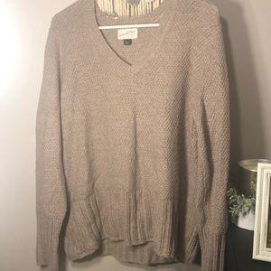 Brown tan big sweater